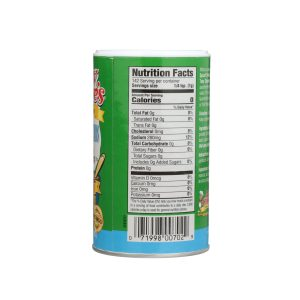 Spice Herb Nutrition Label