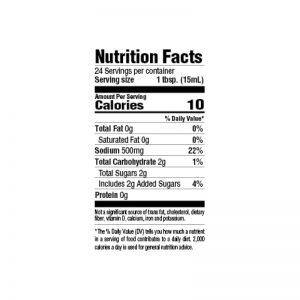 Pork Marinade Nutrition
