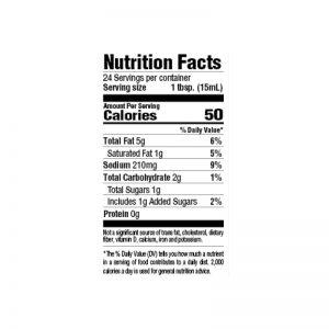 Seafood Marinade Nutrition