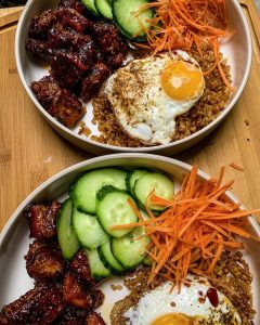 Crispy Creole Breakfast Rice Bowl
