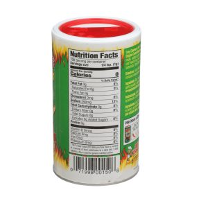 Bold Nutrition Label