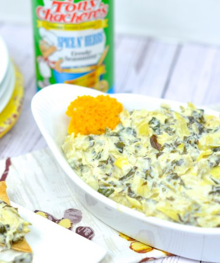 Slow Cooker Cajun Spinach and Artichoke Dip