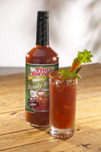 Tony's Bloody Mary Mix Press
