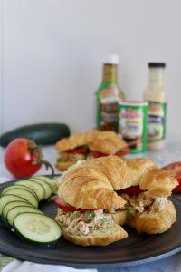 Tony's Shredded Chicken Salad Croissants
