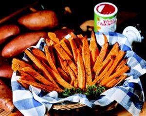 OvenFried Sweet Potatoes