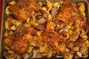 Kickin' Sheet Pan Chicken