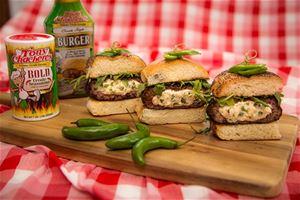 Stuffed Bold Burger