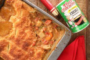 Easy Creole Turkey Pot Pie2