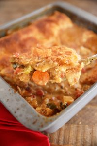 Easy Creole Turkey Pot Pie