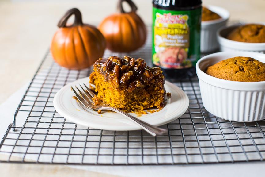 Mini Pumpkin Praline Upside Down Cake