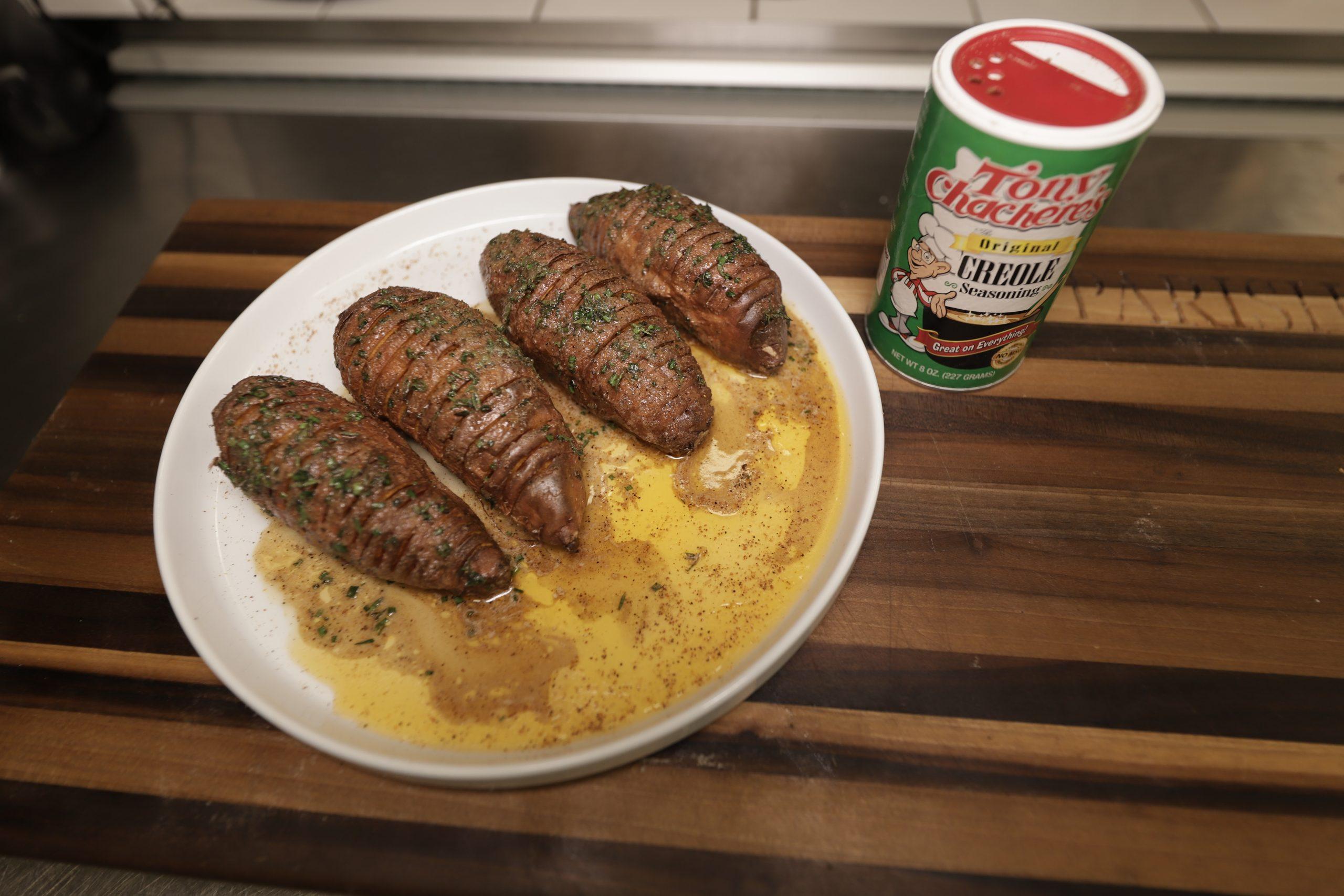 Hassleback Sweet Potatoes 2