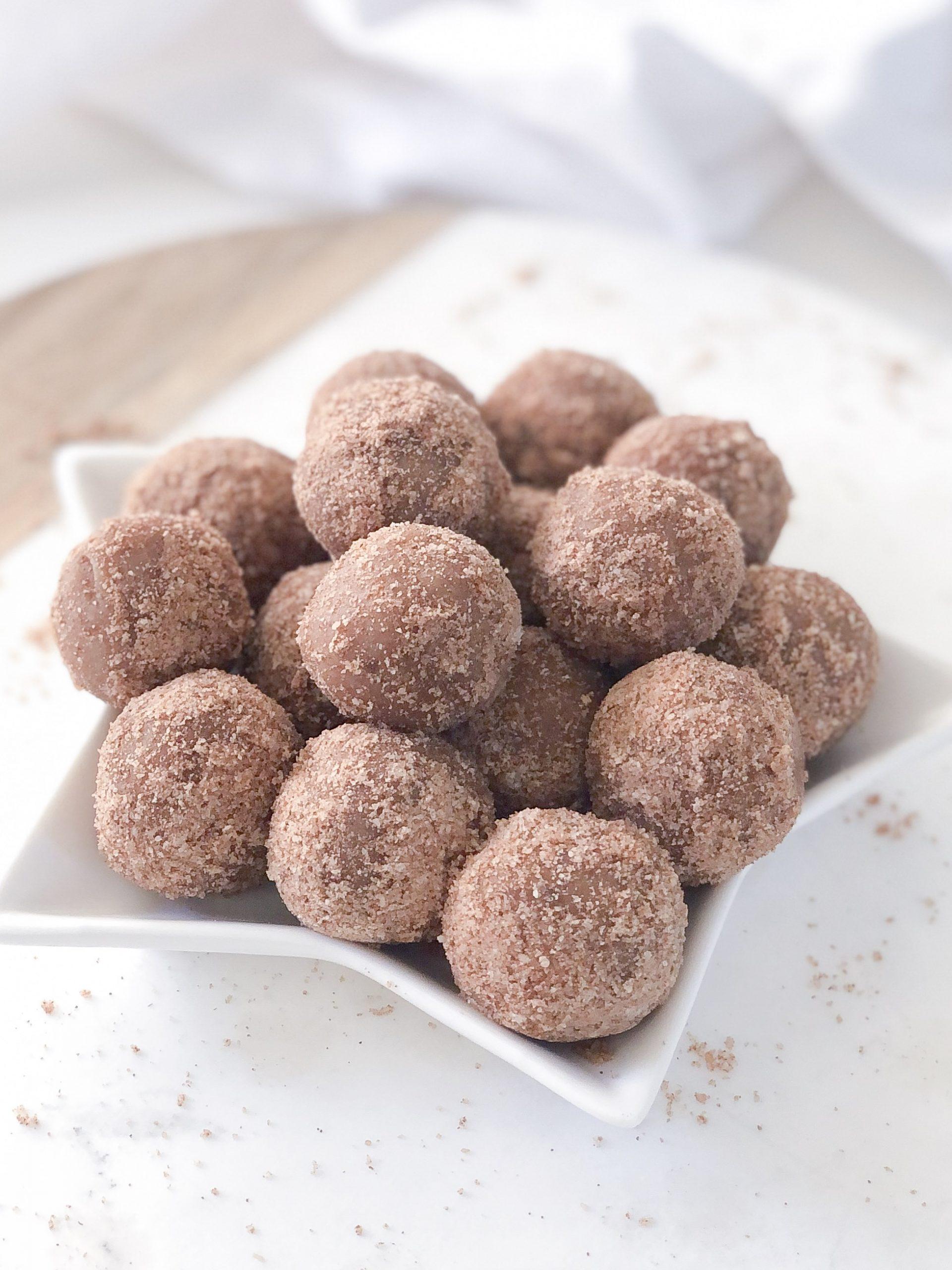 Cinnamon Donut Bliss Balls
