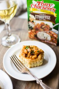 Shrimp Etouffee Vol Au Vents