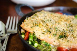 Crunchy Creole Ranch Salmon