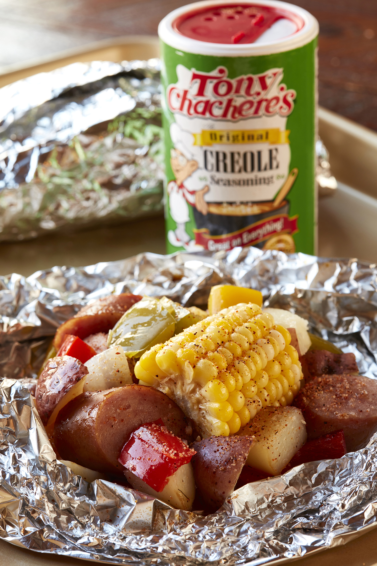 Sausage and Veggies Foil Packets