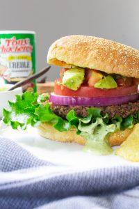 Vegan Cajun Black Been Burgers