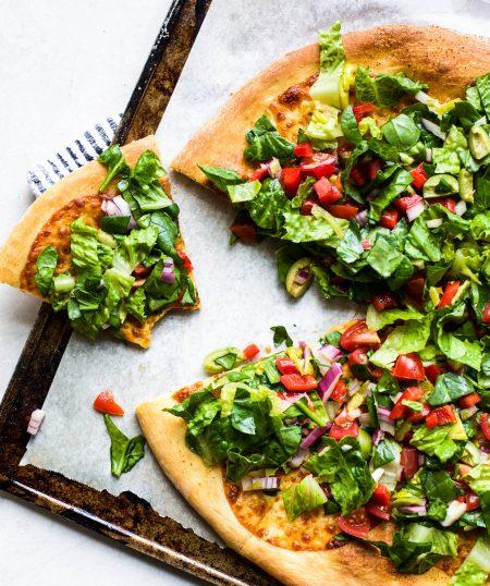 Chopped Salad Pizza