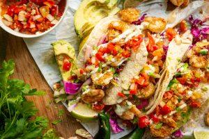 Cajun Grilled Shrimp Tacos