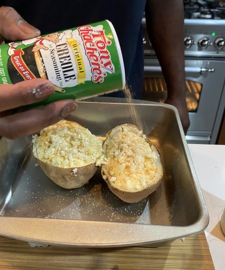 Double Baked Potato