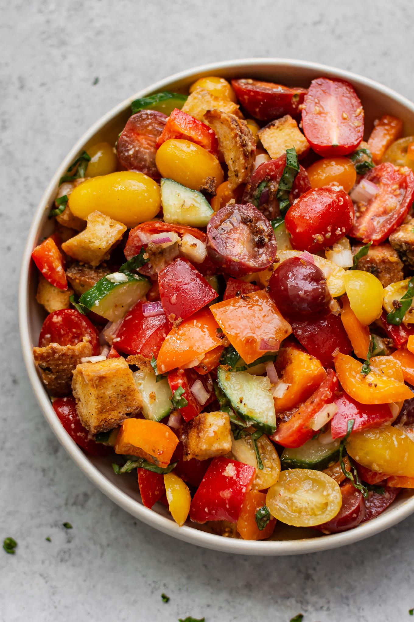 Cajun Panzanella Salad
