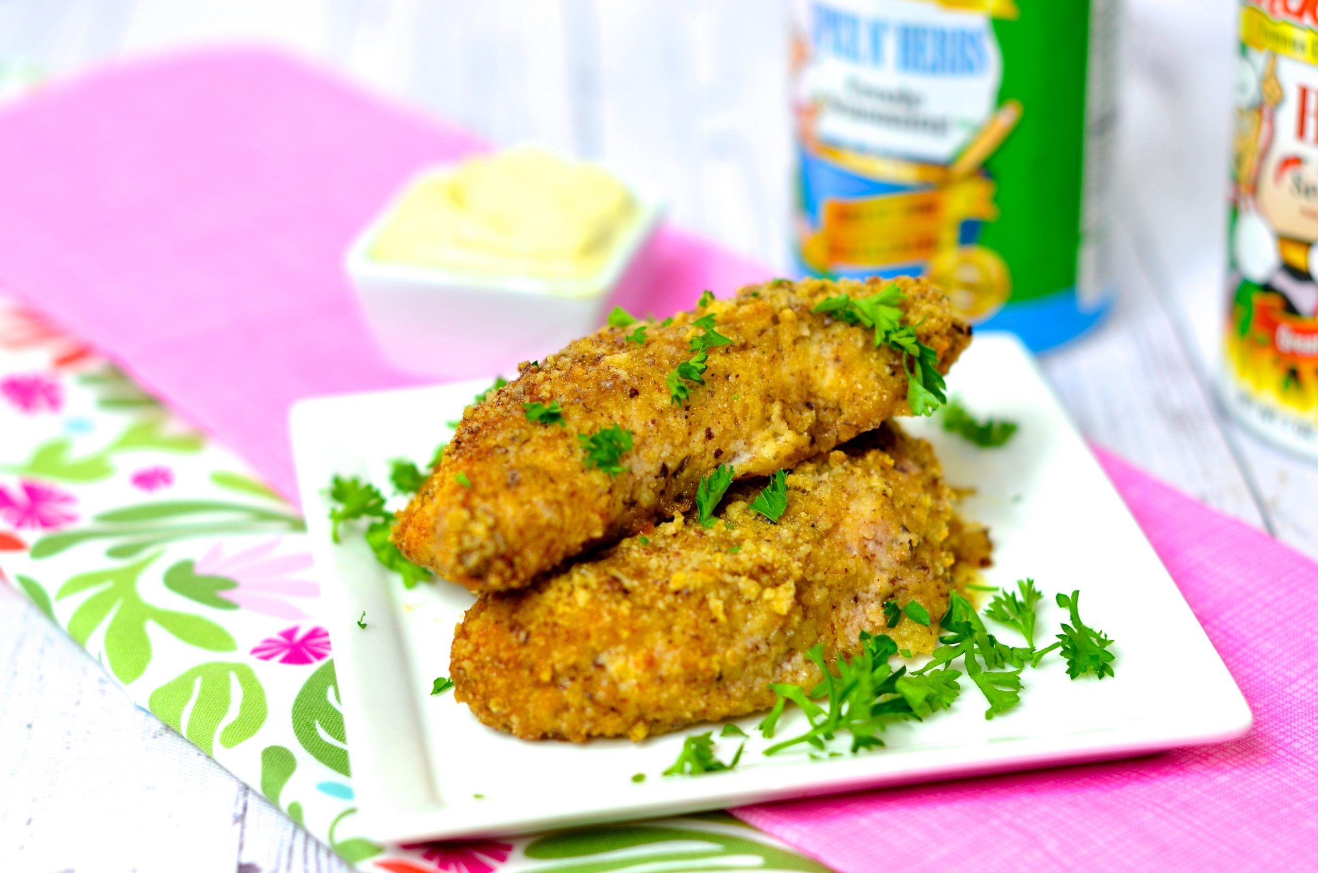 Air Fryer Cajun Breaded Chicken