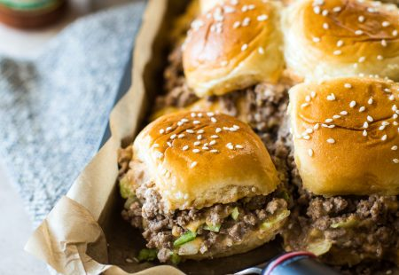 Tony's Baked Cheeseburger Sliders
