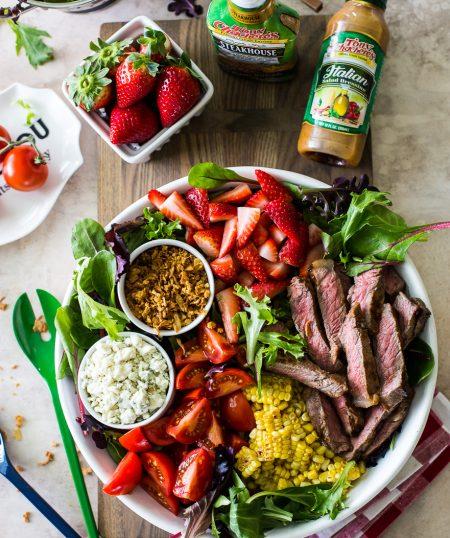 Zesty Grilled Steak Salad