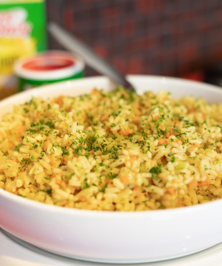 Tony's Yellow Rice with Seasonal Vegetables