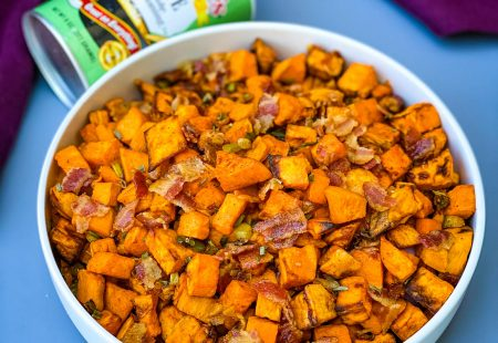 Air Fryer Sweet Potato Hash