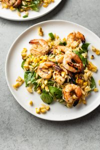 Cajun Grilled Shrimp and Orzo Salad 2