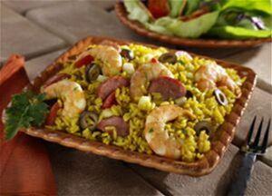 Quick Shrimp Paella