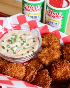 Fried Pickles with Cajun Aioli