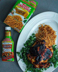 Cornish Hen & Creole Rice