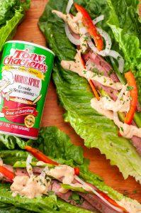 Flank Steak Lettuce Wraps