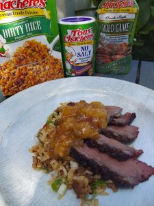 Marinated Duck Breasts with Creole Peach Pepper Jelly 2