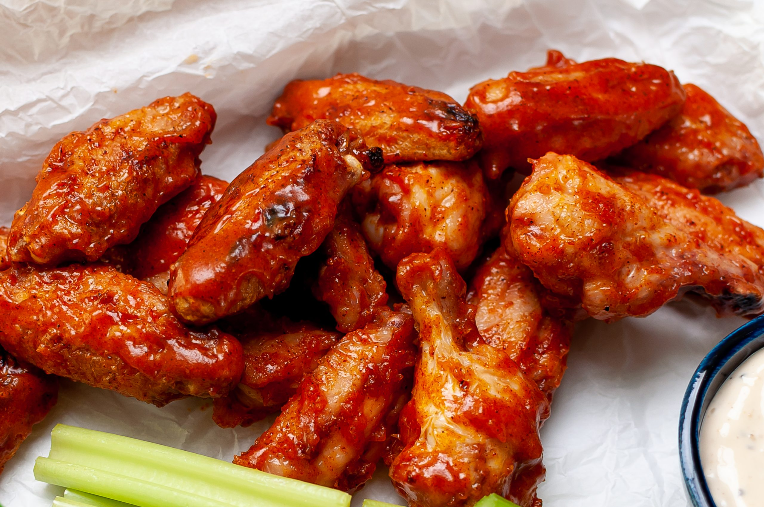 Grilled Sticky Wings 2