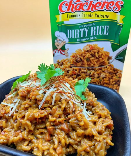 Dirty Rice Risotto