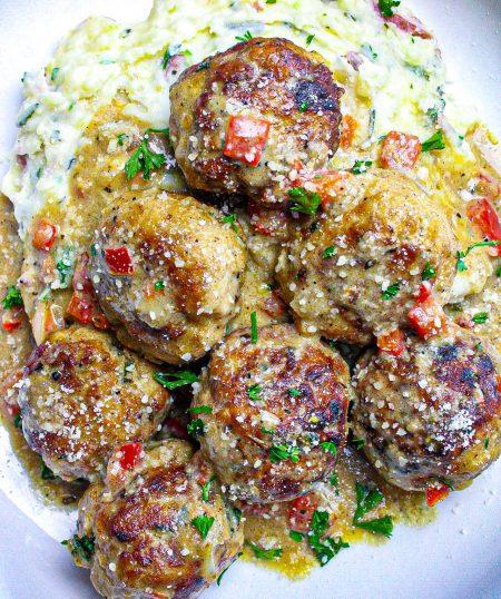 Creole Chicken & Pork Balls