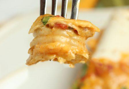 Cheesy Cajun Shrimp Enchiladas