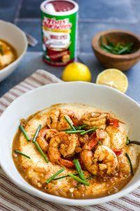 Creole BBQ Shrimp & Grits