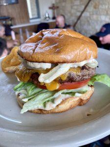 Classic Backyard Burgers with Creole Aioli