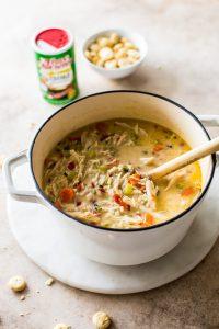Cajun Comfort Chicken and RIce Soup