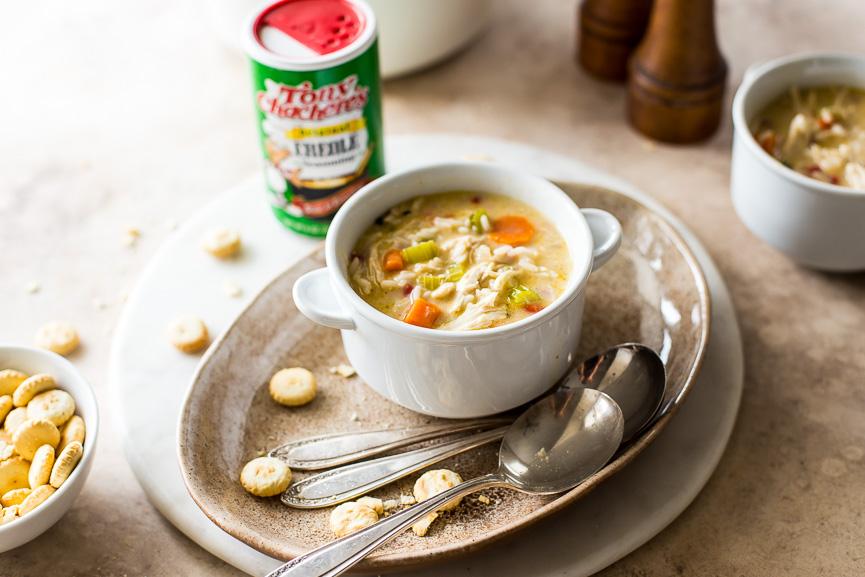 Cajun Comfort Chicken & Rice Soup 2