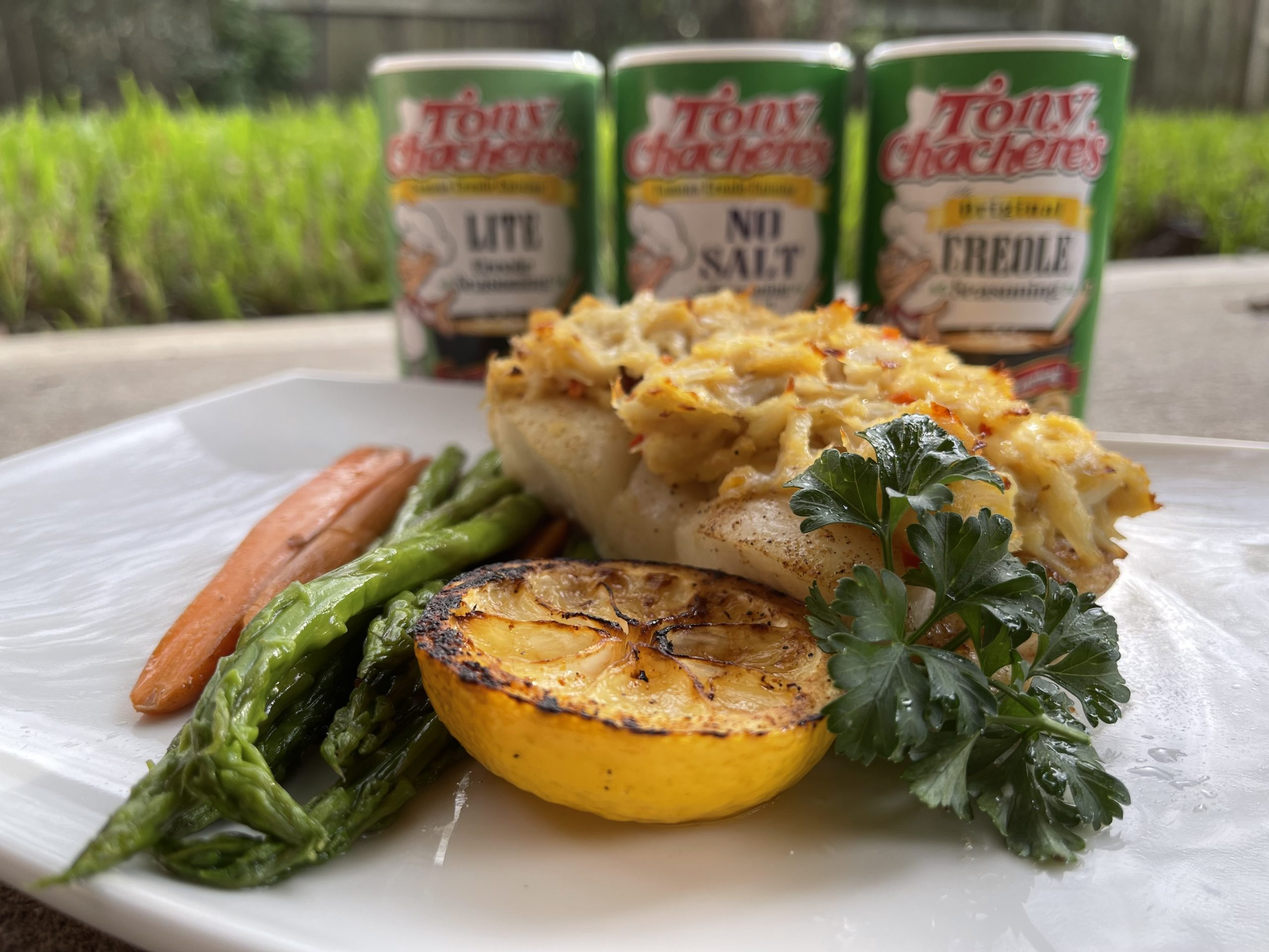 Chilean Sea Bass with Louisiana Lump Crab Meat