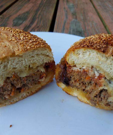 Meatloaf Slider with Bacon Jam